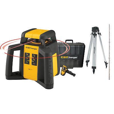 Horizontalexterior Self-leveling Rotary Laser Kit Cstberger Rl25hck New