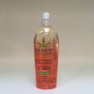 HEMPZ Sweet Pineapple & Honey Melon Bath & Body Oil - 6.76 oz *** NEW, FRESH!!! ()