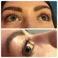 Spring time lash lift and tint discount !
