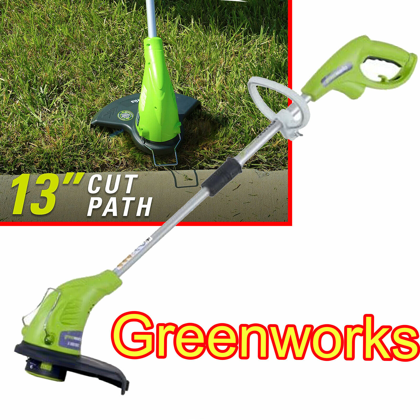 Electric Weed Eater 4 Amp Wacker String Grass Trimmer Cutter