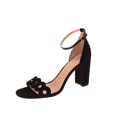 RRP€220 KATE SPADE NEW YORK Leather Ankle Strap Sandals EU40.5 UK6.5-7.5 US9.5