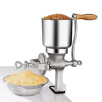 Manual Hand Grains Oats Iron Nut Mill Crank Cast Grinder Corn Coffee Food Wheat