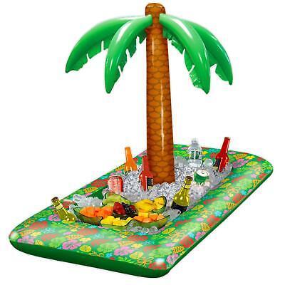 Inflatable Hawaiian Palm Tree Luau Food Drinks Cooler Beach BBQ Party Decoration](Hawaiian Luau Food)