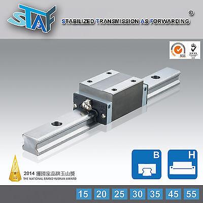 Staf Bgxh25bl-1-l340-n-z0 25type Linear Guide 340l 2 Rail 2 Block Thkhiwin Type