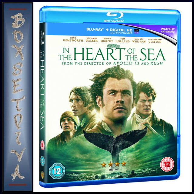 IN THE HEART OF THE SEA - Chris Hemsworth *BRAND NEW BLURAY **
