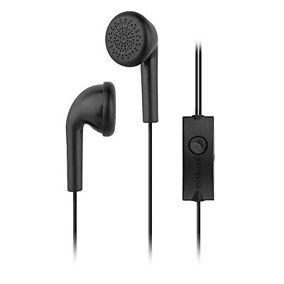 Samsung EHS49 Stereo Earbud Headset with In-Line Button Mic