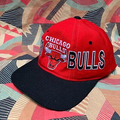 RARISSIMO CAPPELLO Chicago Bulls BASKETBALL CAP NBA NO MICHAEL JORDAN  STARTER US usato Brondello ecd99522ae19
