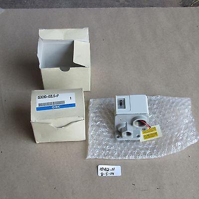 Lot Of 2 Nib Smc Pressure Switch  Is3010-02l5-p