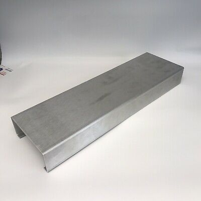 Usa Aluminum Project Box. C Shape For Combo Guitar Amp Build. 20 L X 6 W