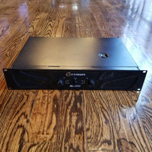 Crown Audio XLi2500 Two-Channel 750W @ 4Ω Power Amplifier Rackmount