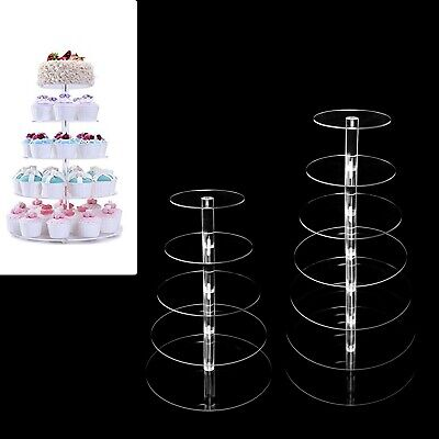Tree Cupcake Stand (5 Tiers/ 7 Tiers Clear Dessert Stand Cupcake Tree Wedding Party Cake)