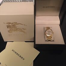 Womens Burberry Watch Rutherford Maitland Area Preview