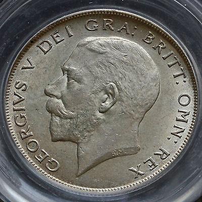 1922 George V Silver Half Crown – Scarce – CGS 75