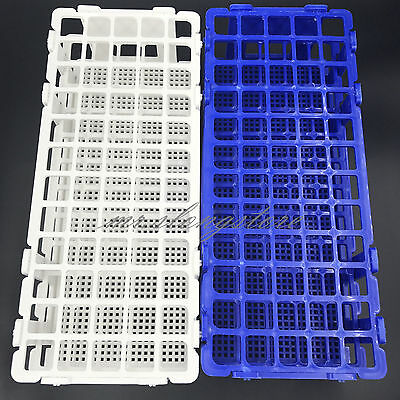 Rack Holder Storage Stand Lab 60 Holes Facility 3 Layers 16mm Plastic Test Tube