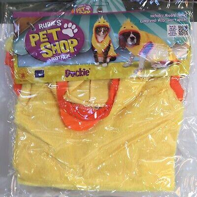 Corgis In Halloween Costumes (Rubies Pet Shop Dog Cat DUCKIE Costume Size Large Beagle Corgi New In)