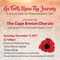 Go Forth Upon Thy Journey-A Reflection on Remembrance Day
