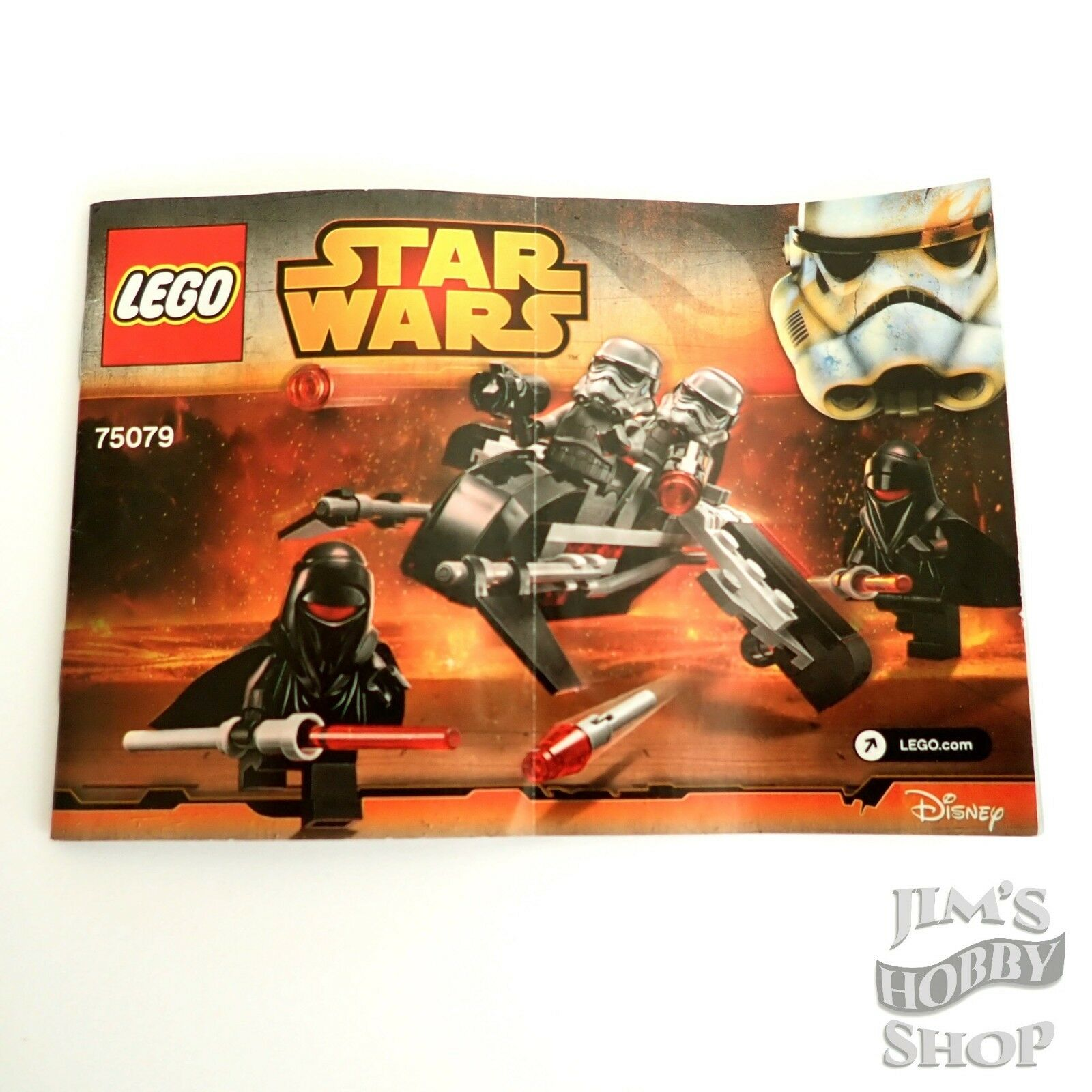 LEGO recipe Star Wars 75079 Shadow TROOPERS NUOVO no parts