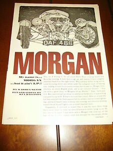 MORGAN REVERSE TRIKE - 4 PLUS 4   ***ORIGINAL 1965 ARTICLE***