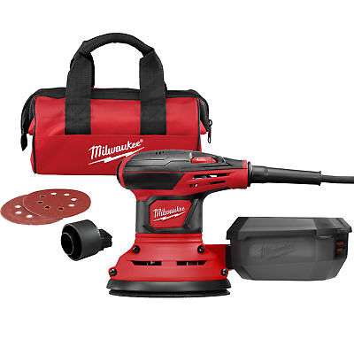 "Milwaukee 6034-21 5"" Random Orbit Palm Sander New"