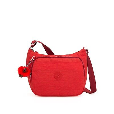 Kipling Medium Crossbody Bag CAI with extendable strap ACTIVE RED  SS19 RRP £83