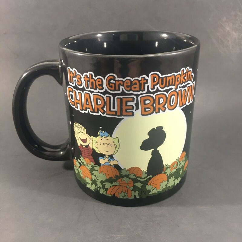 Peanuts Snoopy Halloween Mug Its The Great Pumpkin Charlie Brown