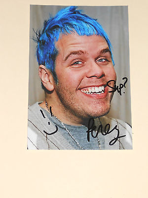 Perez Hilton Signed 4X6 Photo Autograph 1