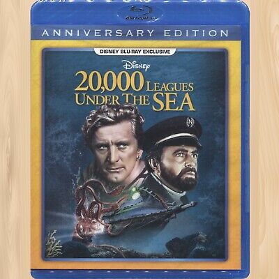 Disney 20,000 LEAGUES UNDER THE SEA 65th Anniversary BLU-RAY Exclusive      0514