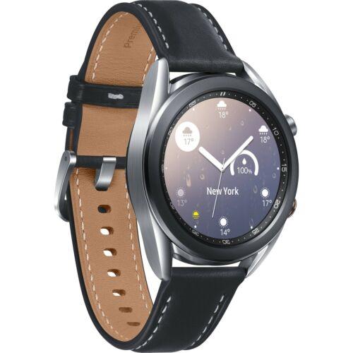 Samsung Galaxy Watch3 41mm Mystic Silver Stainless Steel Case SM-R850NZSAXAR
