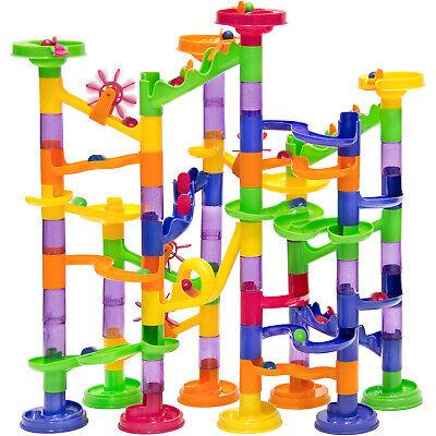 BCP 105-Piece Kids STEM Marble Run Coaster Track Toy -