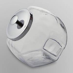 glass jar metal lid ebay. Black Bedroom Furniture Sets. Home Design Ideas