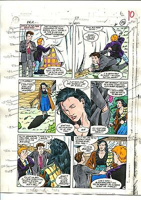 MISTER MIRACLE 14  PAGE 08 COLOR GUIDE-ORIGINAL ART-1 OF A KIND-MOENCH