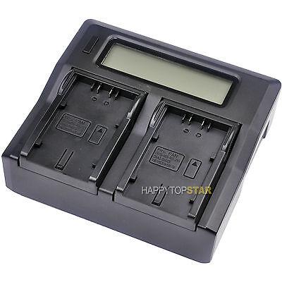 Батареи Dual Double LCD Fast Quick