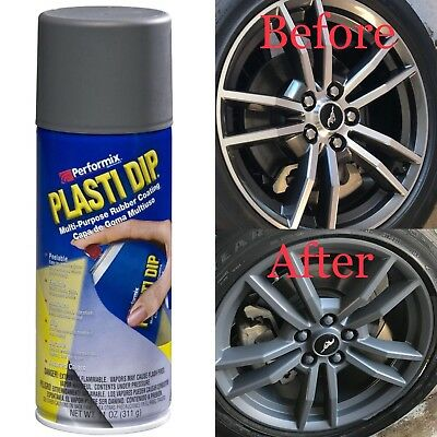 Performix Plasti Dip For Cars Rims Gunmental Grey Special 1 Pk