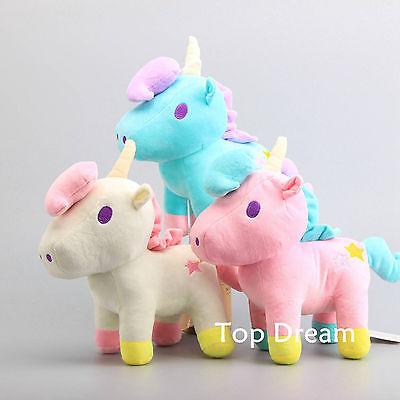 Little Twin Stars Gemini Unicorn White Plush Toy Soft Stuffed Doll 11