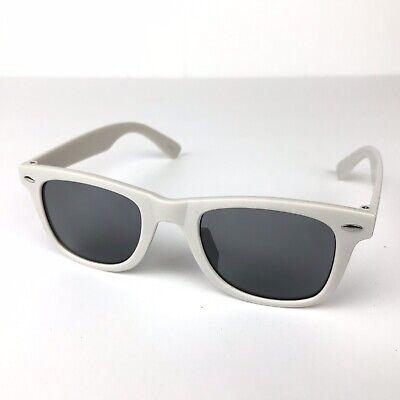 Sunglasses Classic 80's Vintage Style Design (White Matte) cheap & (Inexpensive Stylish Sunglasses)