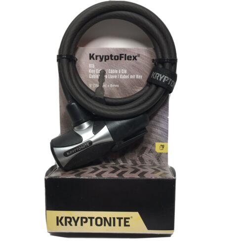 Kryptonite Kryptoflex 815 Key W/Flexframe, Bracket 5' X 8Mm