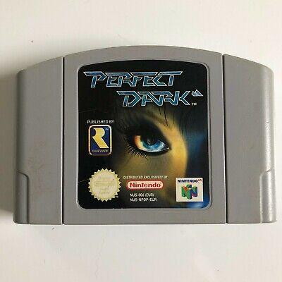 PERFECT DARK für Nintendo 64 N64 GETESTET Modul Game Spiel PAL 1996
