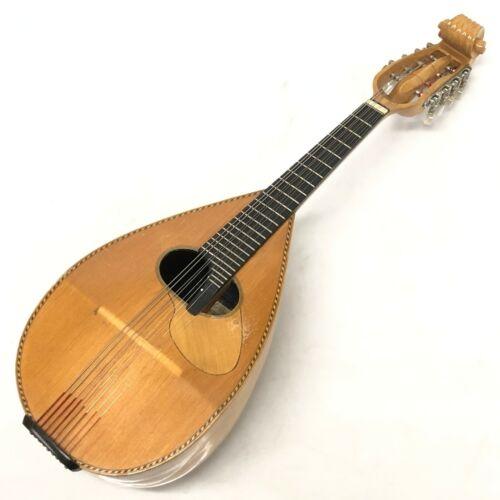 Vintage 1980 YASUYOSHI NAITO No.10 Mandolin Handmade Made in Tokyo Japan [HJ]