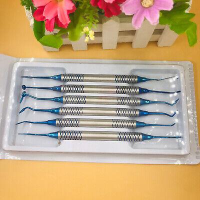 Dental Instrument Composite Resin Filling Spatula Titanium Plated Head Filler