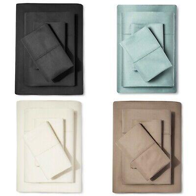 Supima Classic Hemstitch Sheet Set 700 Thread Count - Fieldcrest Classic Hemstitch Sheet Set