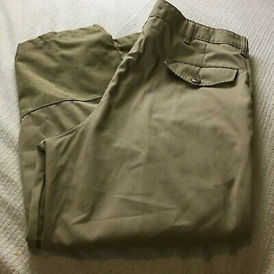 f89ab8352d776 Cabela's Upland Brush Field Hunting Pants With Suspender Buttons Mens Sz 40  x 26
