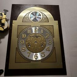 31 Day Grandfather Clock Movement Mechanism With Chime Rods/plate Edward Meyer