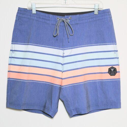 "VISSLA ""High Five"" Coconut Swim Trunks Board Shorts Bathing Suit Men"