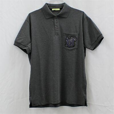 Versace Jeans Mens Logo Polo  S/S Shirt Peltro Sz 50EU