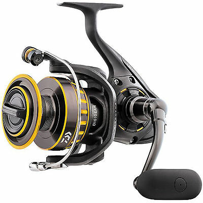 NEW Daiwa Black Gold BG 4500 Saltwater Spinning Fishing Reel BG4500 Black Gold Spinning Reel