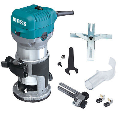 Moss 38 14 Electric Hand Trimmer Wood Laminator Router Joiners Tool 220v