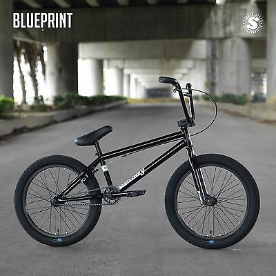 "2019 SUNDAY BIKE BMX BLUEPRINT 20/"" BLACK BICYCLE 20.5/"" Toptube FIT CULT KINK"