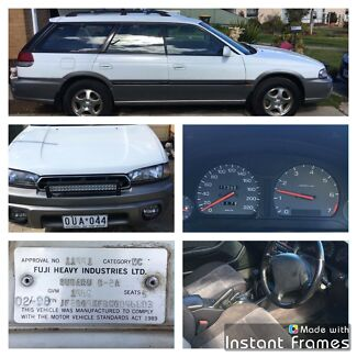 98 Subaru Outback Wagon Registered & RWC