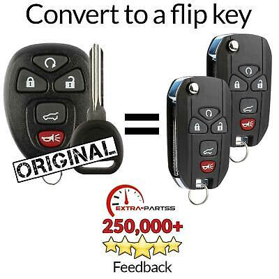 2 For 2008 2009 2010 2011 2012 Buick Enclave Remote Keyless Entry Flip Key Fob