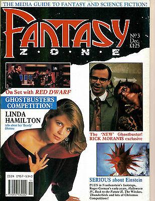 WoW! Fantasy Zone #3 Red Dwarf! Linda Hamilton! Roger Corman Films! Halloween IV ()